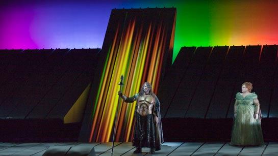Das Rheingold Metropolitan Opera Robert Lepage James