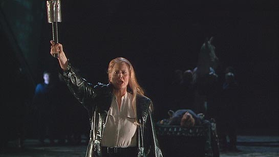 Anne Evans in Harry Kupfer's production of Götterdämmerung at Bayreuth