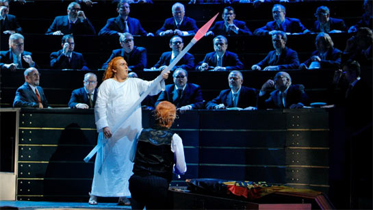 Simon O'Neill as Parsifal and Detlef Roth as the suffering Amfortas.