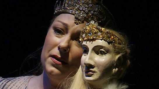 dorothea röschmann as elsa in lohengrin
